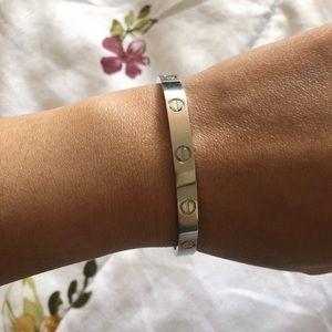Cartier Jewelry - Cartier love bracelet size 16